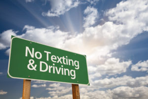 auto accident law - distracted driving